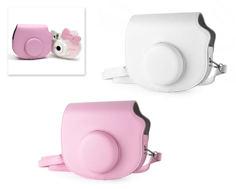 Leather Camera Case for Fujifilm Instax Mini Hello Kitty