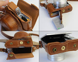 Premium Series Nikon J5 Camera Leather Case
