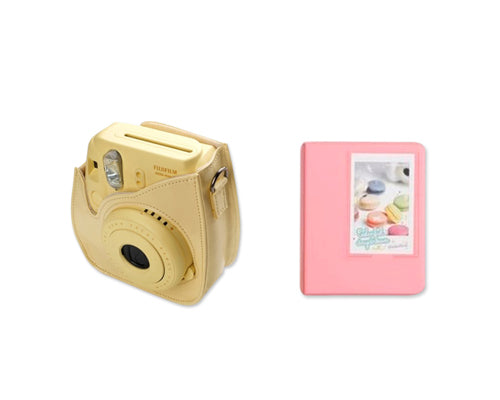 Fujifilm Bundle Set Instax Case/Album for Fuji Instax Mini 8 - Pink