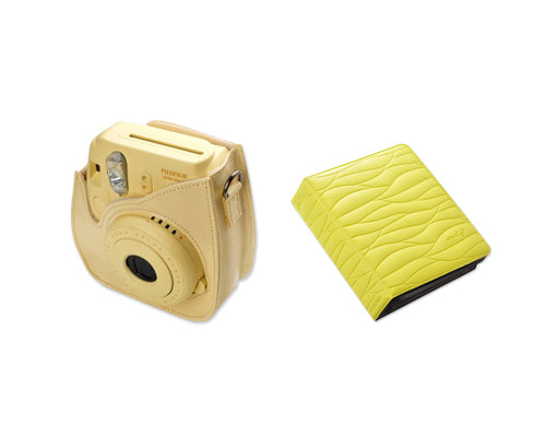 Fujifilm Bundle Set Instax Case/Album for Fuji Instax Mini 8 - Yellow