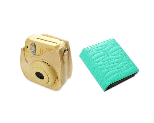 Fujifilm Bundle Set Instax Case/Album for Fuji Instax Mini 8 - Mint