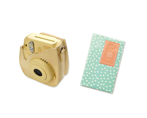 Fujifilm Bundle Set Instax Case/Album for Fuji Instax Mini 8 - Daisy