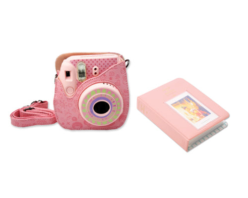 Fujifilm Bundle Set Mini Case/Album for Fuji Instax Mini 8 - Moment