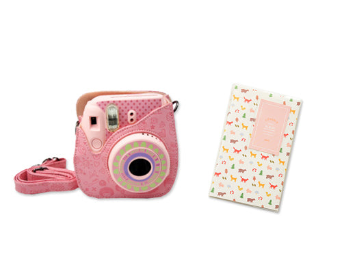 Fujifilm Bundle Set Mini Case/Album for Fuji Instax Mini 8 - Forest