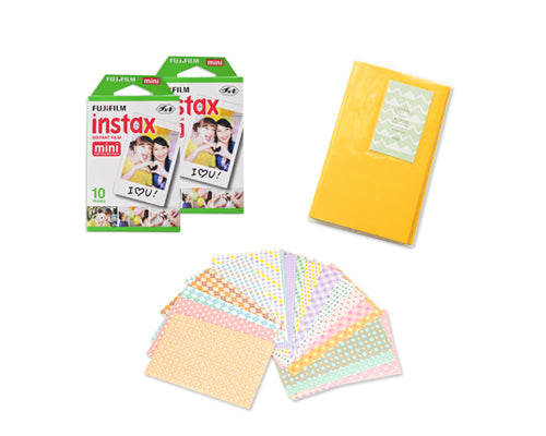 Fujifilm Bundle Set Fujifilm Album/Frame for Fujifilm Mini Film-Cute