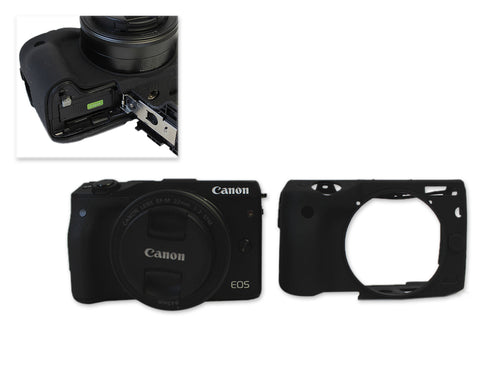 Silicone Camera Case for Canon EOS M3