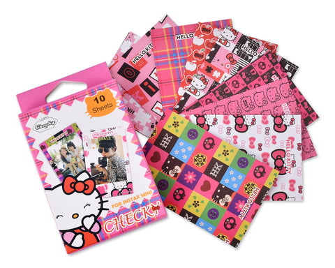 Fujifilm Instax Mini Film Decoration Sticker Borders - Hello Kitty