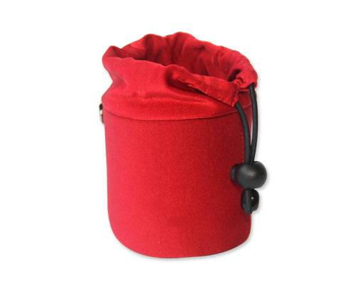 Sony DSC-Q100 Camera Lens Pouch - Red
