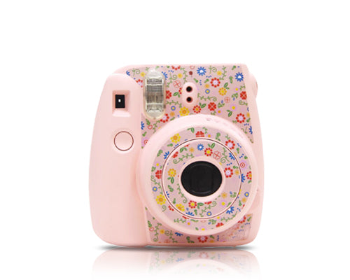 Garden Camera Sticker for Fujifilm Instax mini 8 - Pink