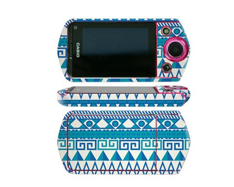 Camera Sticker for Casio EX TR350 / Casio EX TR15 - Night Blue