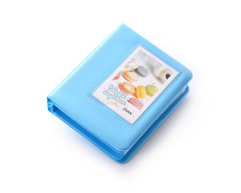 Candy Photo Album for Fujifilm Instax Mini Films - Blue