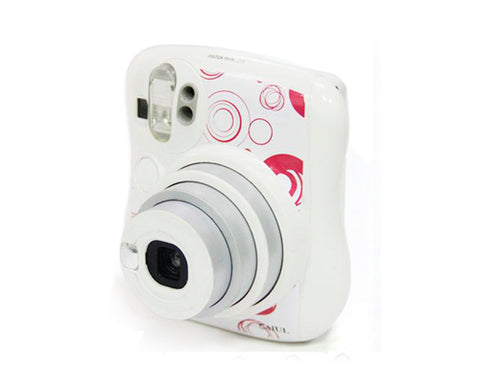 Circle Camera Sticker for Fujifilm Instax Mini 25 - Red