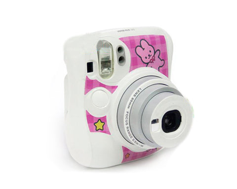 Rabbit Camera Sticker for Fujifilm Instax Mini 25 - Pink