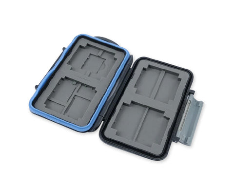 Camera Memory Cards Storage Case - Gray