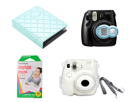 Fujifilm Bundle Set Instax Films/Album for Fuji Instax Mini 7S - Blue