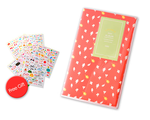 Lovely Mini Photo Album for Fujifilm Instax Mini Films - Leaf
