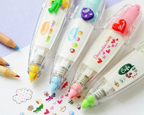 Fujifilm Creative Lace Painting Pen for DIY Album - Heart