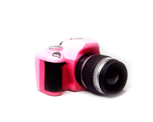 Cute Camera-shaped Hot Shoe Cover for Canon Nikon Fujifilm - Pink