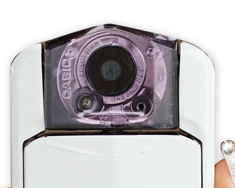 Casio EX-TR100 Camera Lens Sticker - Purple