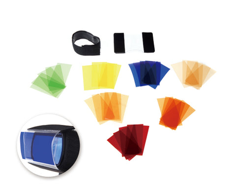 Godox CF-07 Universal Speedlite Color Filter Kit