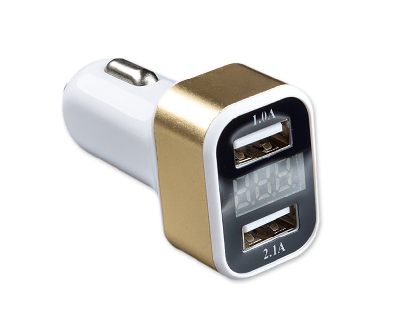Smart Auto Dual Port USB Adapter Car Charger