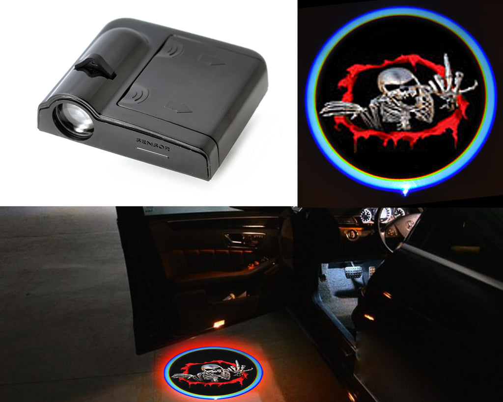 Wireless Car Door Shadow Laser Projection Logo LED Light