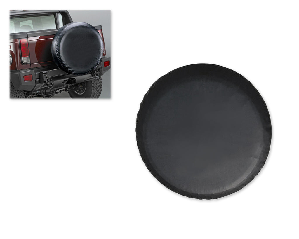 Universal Spare Tire Cover - Black