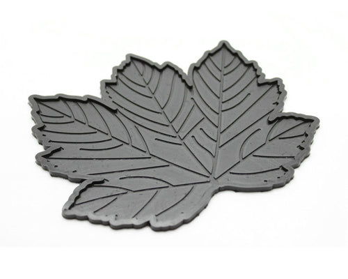 Maple Leaves Non-Slip Car Mat Dashboard  Pad for Mobile Phone  - Grey