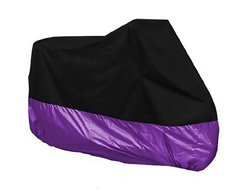 190T Nylon Heavy Duty Waterproof Bike Cover - Purple