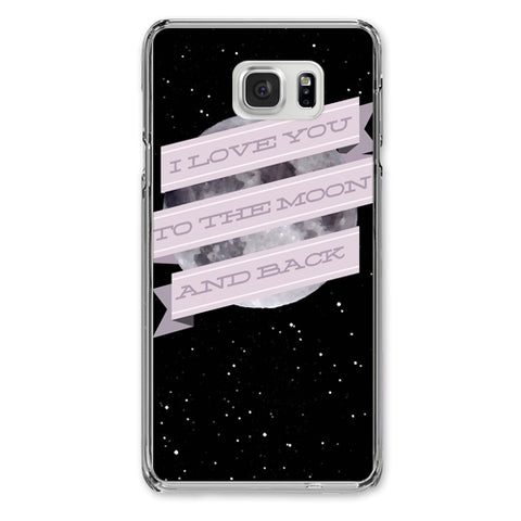 I Love You to the Moon and Back Designer Phone Cases