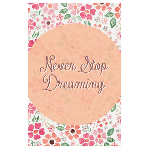 Never Stop Dreaming Designer Phone Cases