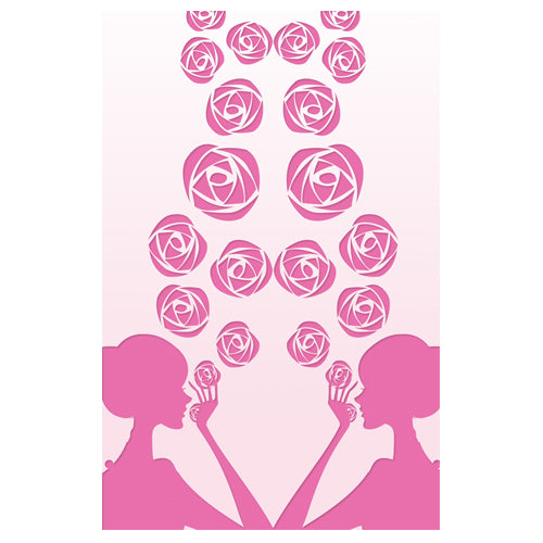 Girl with Rose Designer Phone Cases