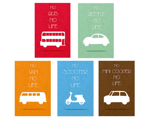 Retro Transport Designer Phone Cases