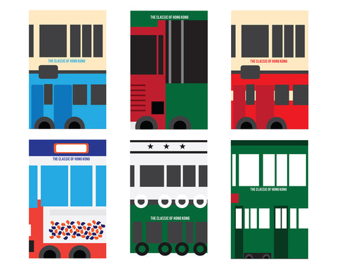 Retro Hong Kong Transport Designer Phone Cases