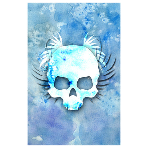 Blue Skull Designer Phone Cases