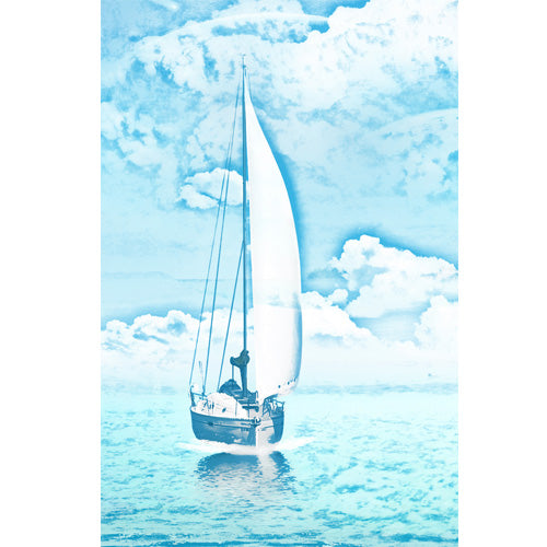 Sailing on A Blue Ocean Designer Phone Cases