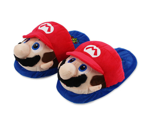 Super Mario Plush Slippers