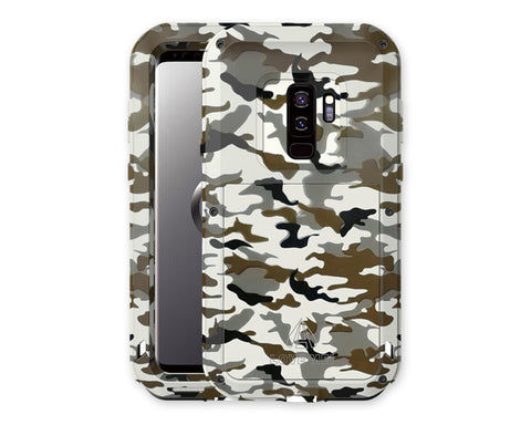 Samsung S9 Waterproof Case Camouflage Shockproof Metal Case