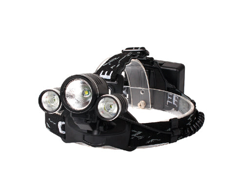 10W 1000 Lumens Rechargeable Outdoor Cycling Cree 3 LED Headlight