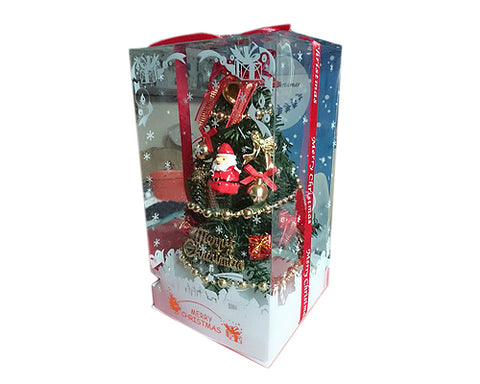 8'' Lighted Christmas Tree Music Box