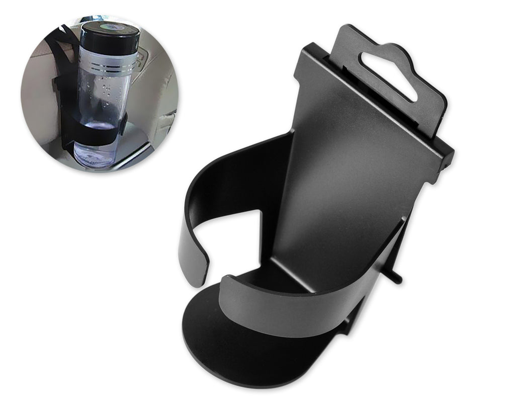 Universal Auto Car Door Bottle Clip Seat Drink Cup Holder Mount - Black