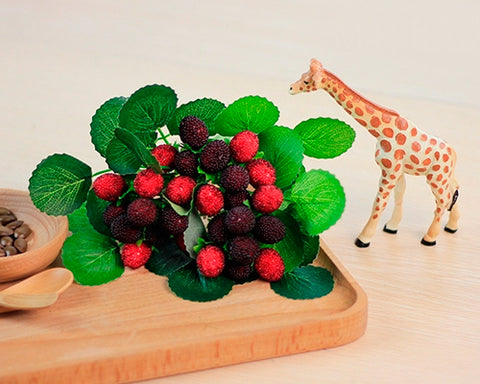 Decorative Lifelike Artificial Fruit Small Berries