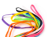 10 Pairs Multicolor Replacement Flat Shoe Laces Set