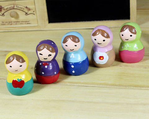 5 Pieces Russian Nesting Matryoshka Doll