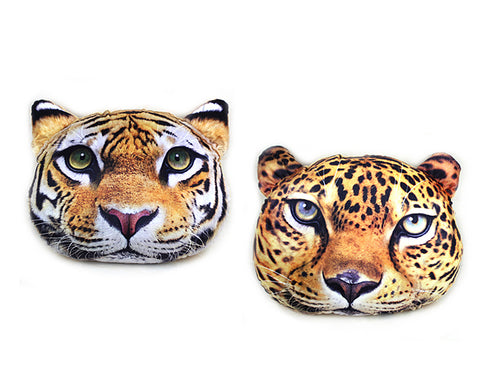 16'' Animal Face Plush Pillow Cushion