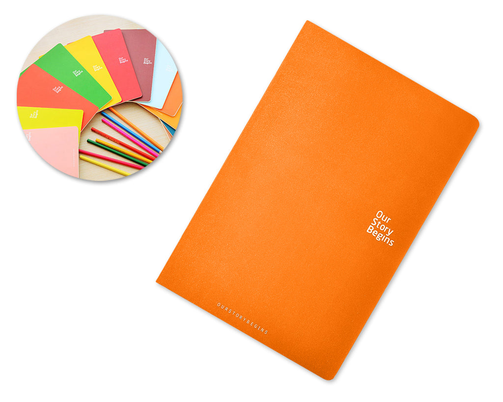 Diary Journal Writing Notebook Agenda Scheduler Memo Book - Orange