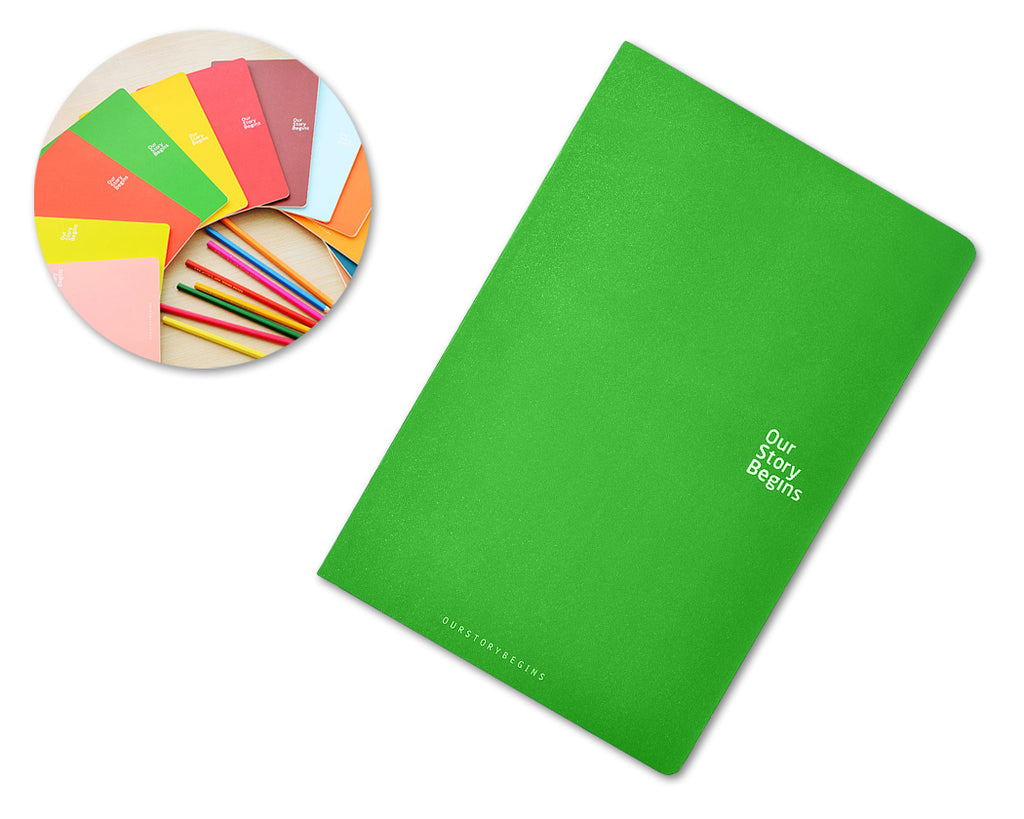 Diary Journal Writing Notebook Agenda Scheduler Memo Book - Green