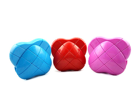 Creative 3x3x3 Heart Shaped Brain Teaser Magic Cube for Kids
