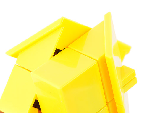 Creative 2x2x2 House Speed Cube - Yellow