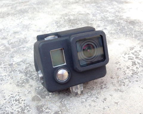 GoPro Silicone Case Cover for Hero 3+ / Hero 3 Plus Camera - Black